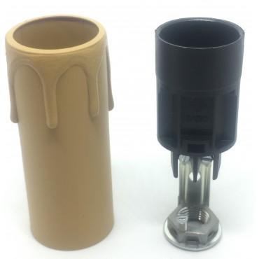Komplet - Oprawka [8,5cm] + gilza [biała]